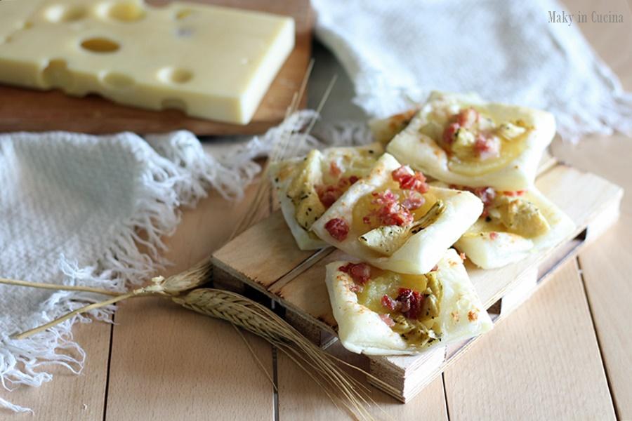Sfogliatine carciofi e patate