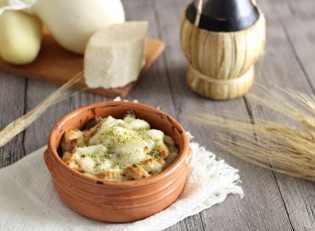 Gnocchi crema di formaggi e pistacchi
