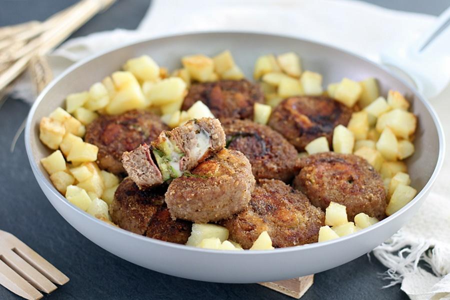 Girelle di carne con zucchine