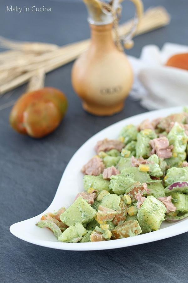 Insalata di patate con pesto di rucola (1)