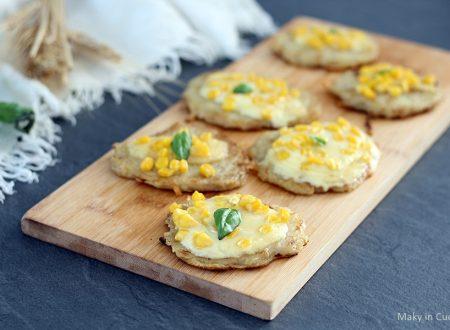 Pizzette mimosa di patate