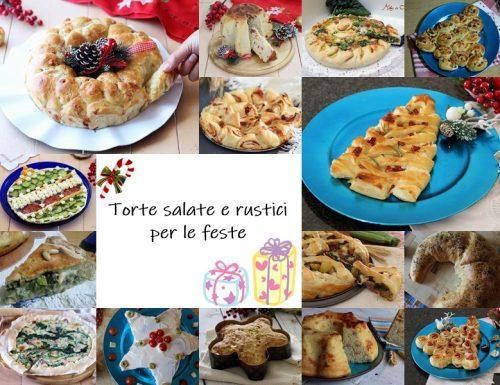 Ricette Torte salate e rustici per le feste