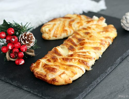 Sfoglia natalizia salata 'Bastoncino di zucchero'