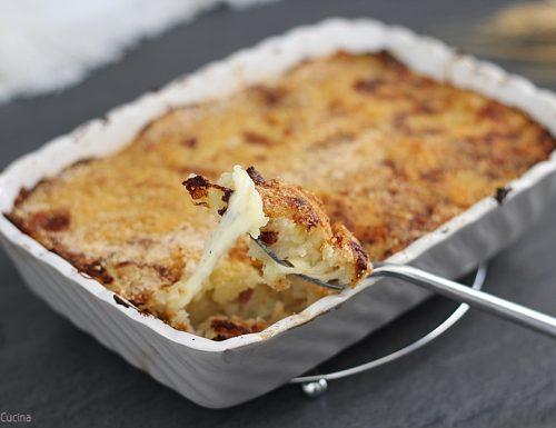 Pasticcio di patate e speck