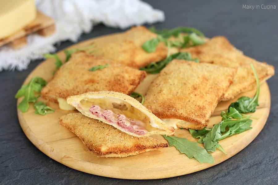 Fagottini al prosciutto e formaggio