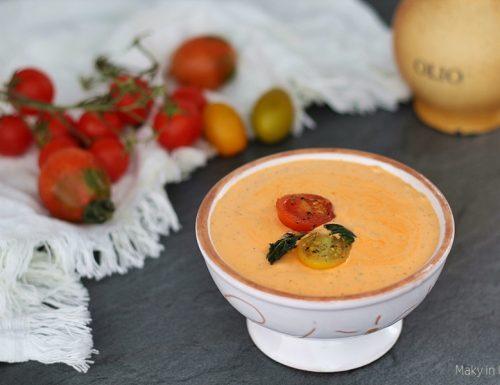 Pesto pomodorini e robiola