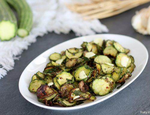 Zucchine alla scapece con friggitrice ad aria