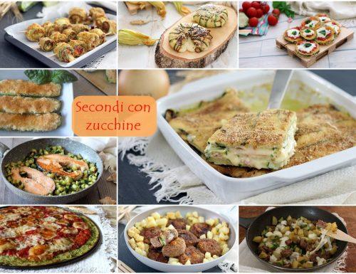 Secondi con zucchine