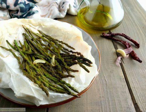 Asparagi al cartoccio e come cucinarli in forno