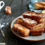 Dolce spagnolo al latte con pane raffermo, Torrijas de leche