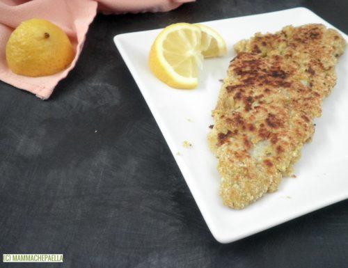 Filetto di merluzzo impanato in padella – ricetta senza frittura né uova
