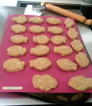 Biscotti rustici da inzuppo senza ammoniaca, ai 3 cereali