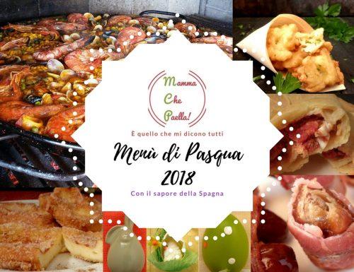 Menu di Pasqua 2018, a casa tua come in Spagna