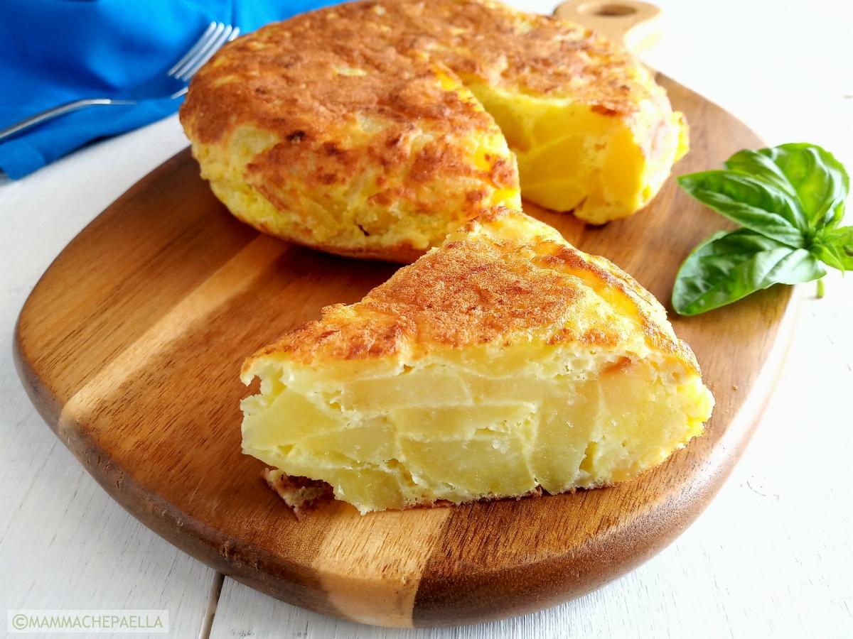 Ricetta Per Tortillas Spagnole.Ricetta Della Frittata Di Patate Spagnola Perfetta Tortilla De Patatas