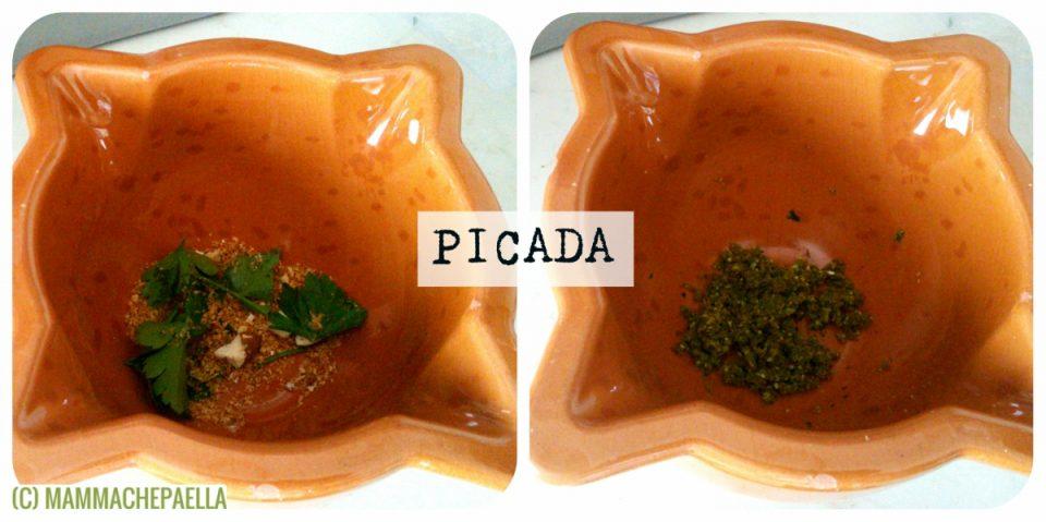 Coda di rospo stufata con patate - Picada