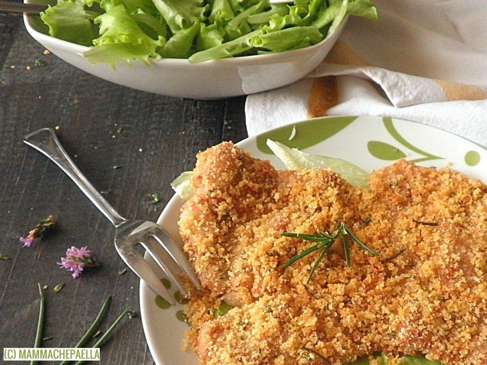 Ricetta delle cosce di pollo al forno gratinate