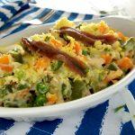 Insalata russa con tonno e uova sode, ricetta spagnola
