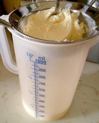 Burro e latticello da 125 ml di panna fresca