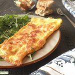 Omelette al prosciutto e provola, per panini o piatti unici
