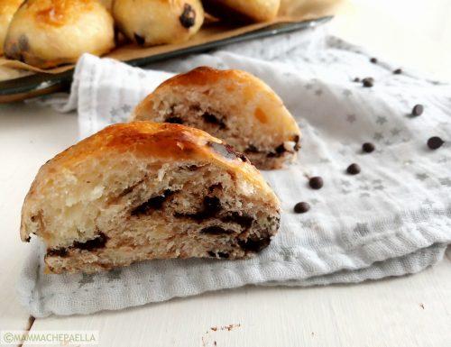 Pan cioccolato con lievito madre fatti in casa