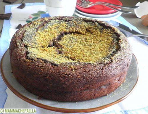 Torta tenerina con pistacchio e senza farina