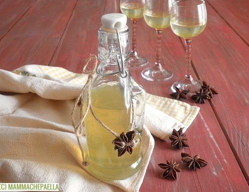 Liquore di anice stellato, per dolci o da bere liscio (moderatamente)