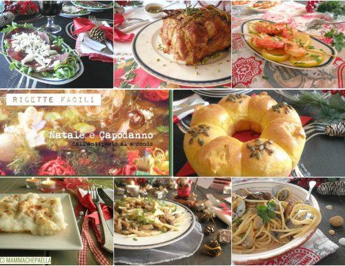 Ricette facili per Natale e Capodanno -dall'antipasto al secondo