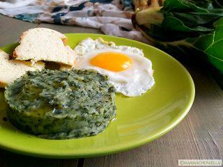 Contorno di coste verdura e ricetta