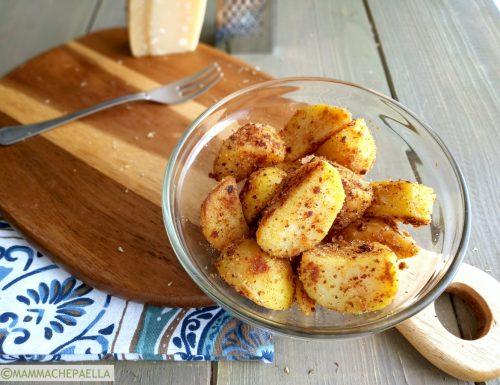 Contorno di patate rosolate in padella, leggere e saporite