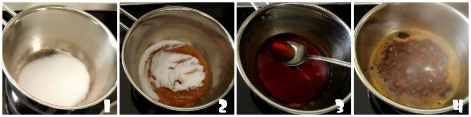 Come fare il caramello liquido in 4 passaggi