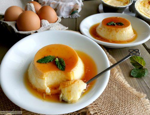"""Flan di uova e latte, ricetta spagnola del """"flan de huevo"""""""