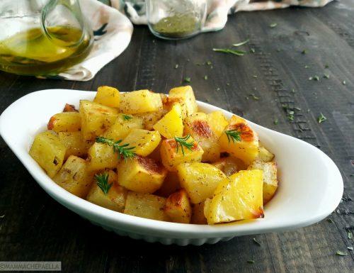Ricetta delle patate al forno morbide e gustose