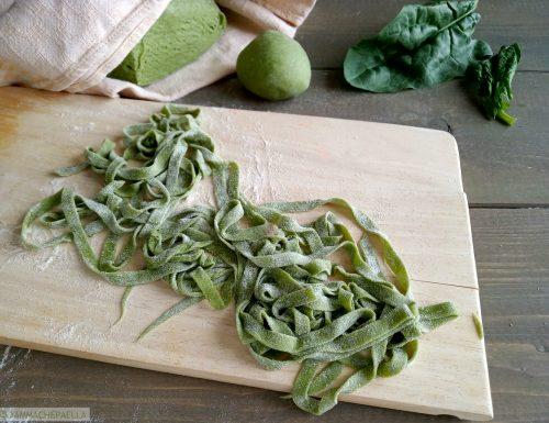 Impasto per pasta fresca verde agli spinaci