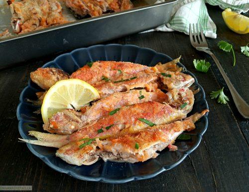 Triglie marinate al forno, un secondo leggero e gustoso