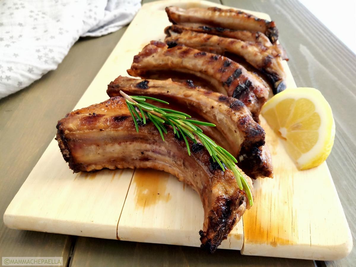 Costine Di Maiale Alla Griglia Tenere E Gustose Secondo Di Carne