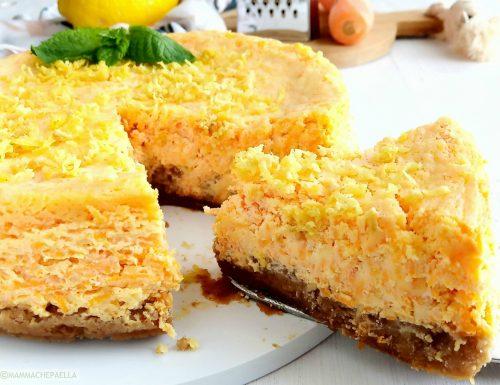 ACE cheesecake con carota arancia e limone