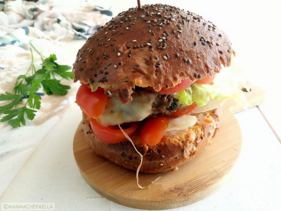 Panini per hamburger al grano saraceno