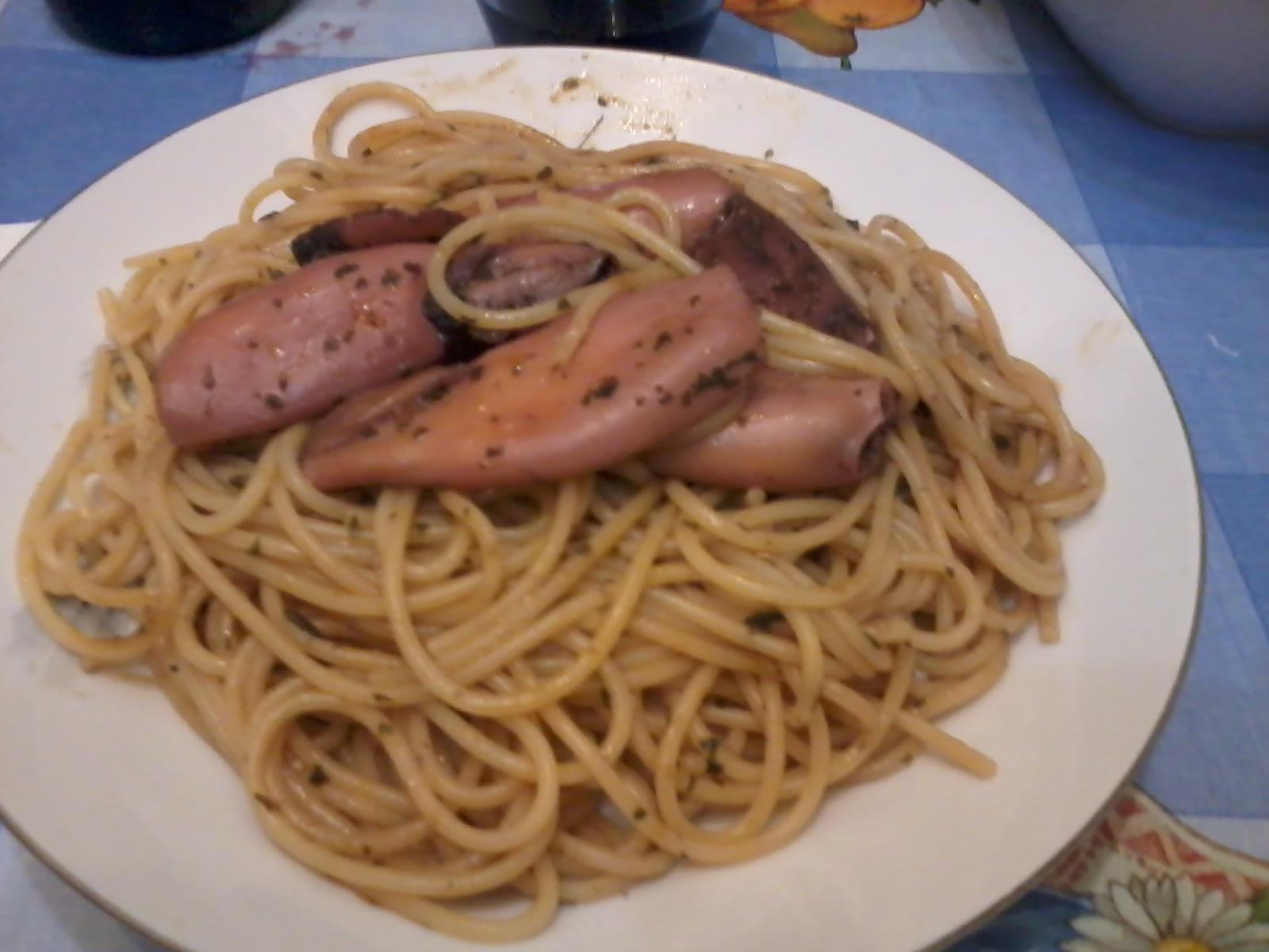Ricerca ricette con spaghetti con calamaretti for Spaghetti ricette