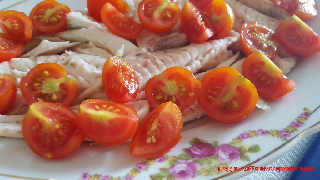 Gallinella di mare e pomodorini