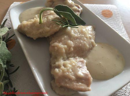 Scaloppe di pollo al vino bianco