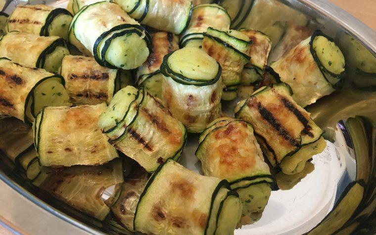 Rotolini di zucchine con patate
