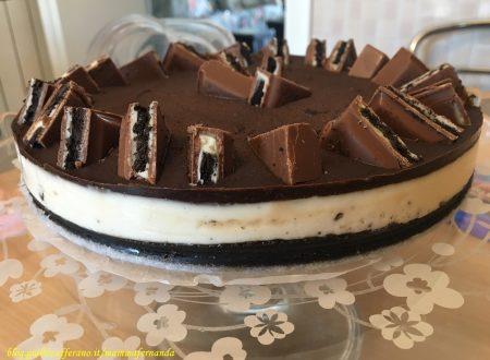 Cheesecake agli Oreo