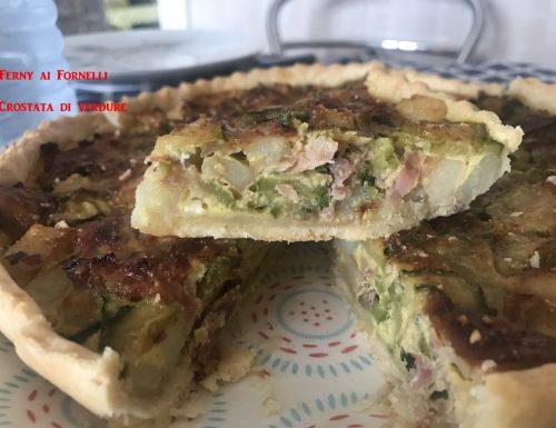 Crostata di verdure con pasta brisèe
