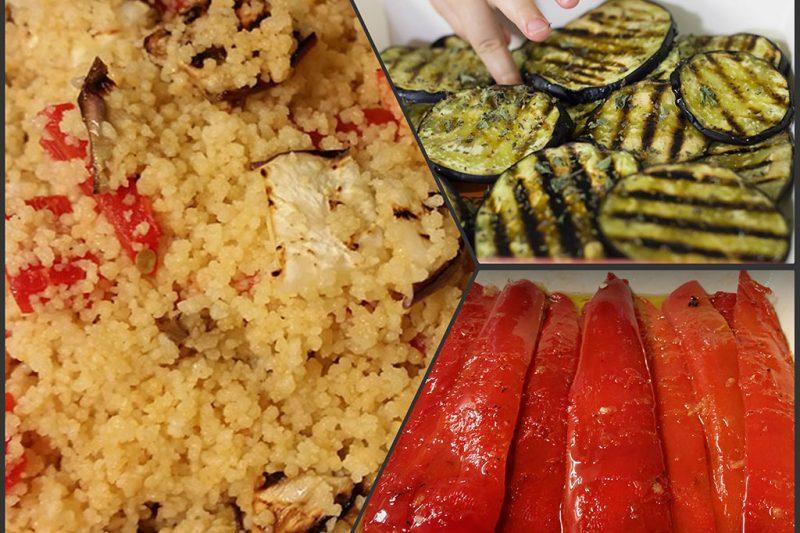 Cous Cous con verdure grigliate