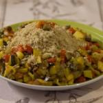 Ricetta con cous cous di frutta e verdura