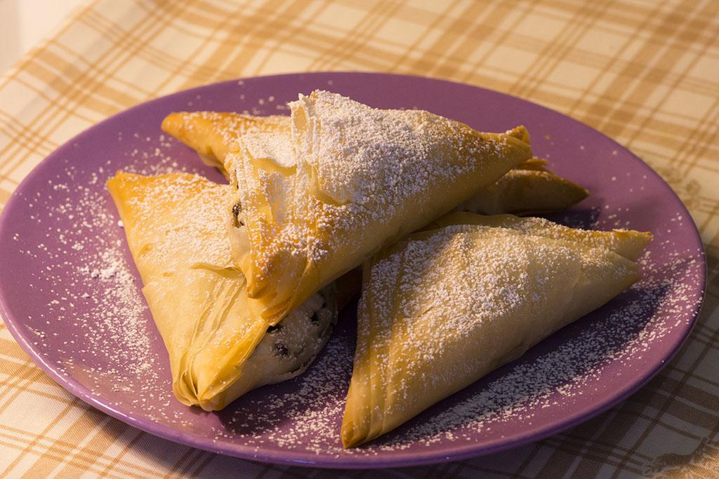 Fagottini di pasta fillo con ricotta e cioccolato mamma for Marchi di pasta da non mangiare