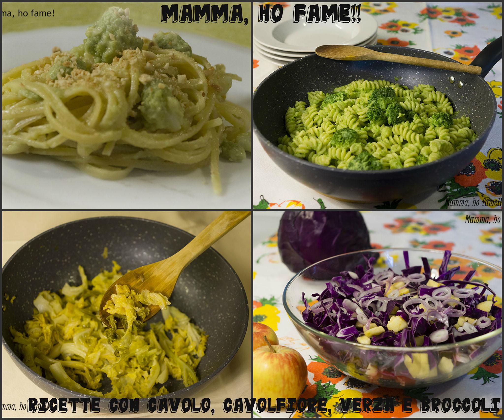 Ricette Con Cavolo Cavolfiore Verza E Broccoli Mamma Ho Fame