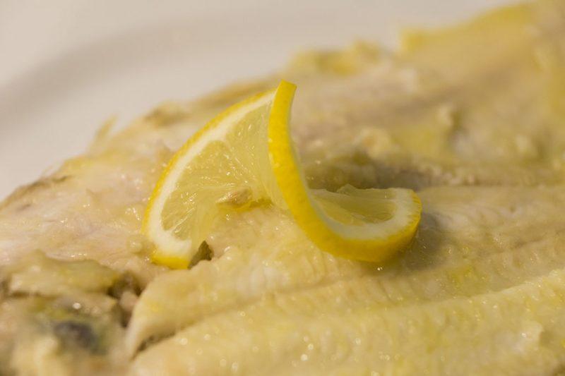 Sogliola al limone – ricetta veloce e leggera