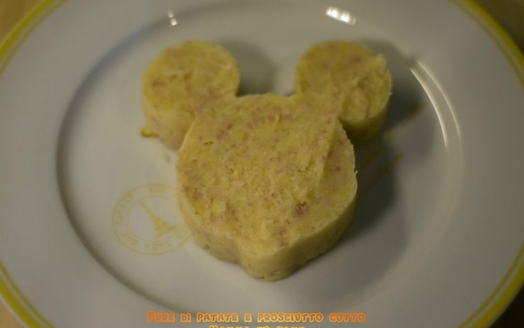 Purea di patate e prosciutto cotto