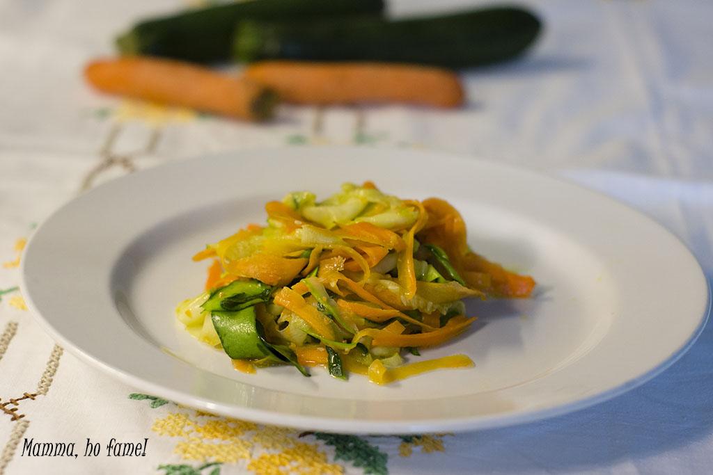 Tagliatelle di verdura